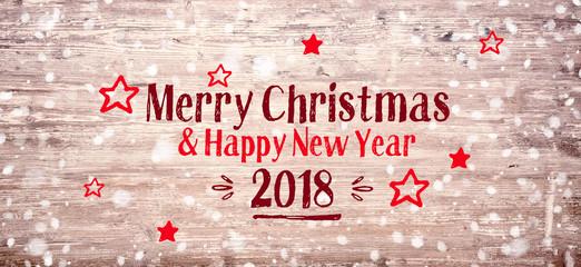 Rustic Christmas Greeting Card