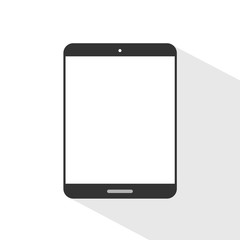 Flat design pad with shadow