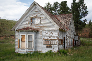 Abandoned Colorado Farmhouse