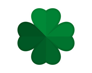 green clover icon vector