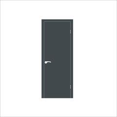 Door icon. Vector illustration