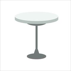 Table icon. Vector illustration
