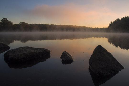 Houghton's Pond in Milton, MA