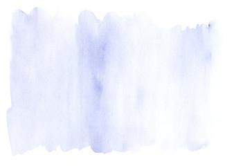 Modern lavender blue watercolor template