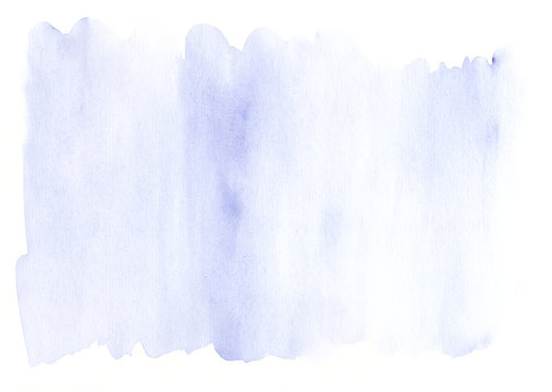 Modern lavender blue watercolor template