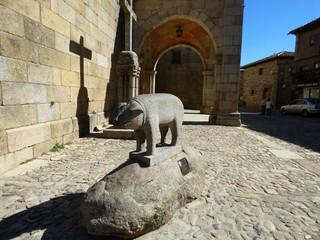 La Alberca. Pueblo con encanto de Salamanca (Castilla la Mancha, España)