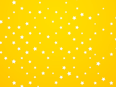abstract yellow star background