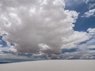 new Mexico white sands dunes