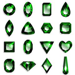 宝石 緑 エメラルド
