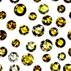 宝石 黄色
