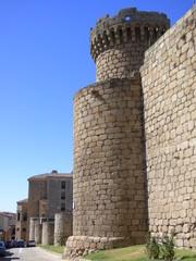 Castillo de Oropesa. Pueblo de Toledo, en la comunidad autónoma de Castilla La Mancha (España)
