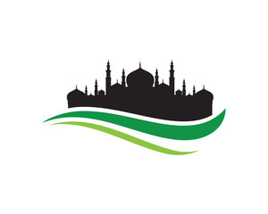 Mosque vector Illustration design