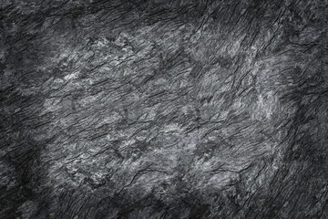Wall Mural - black stone texture with shadow for pattern and background