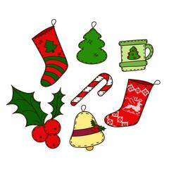 Christmas set of Christmas tree decorations