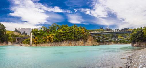 Bridges over Rakaia River