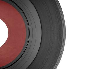 Detalle de disco de vinilo single