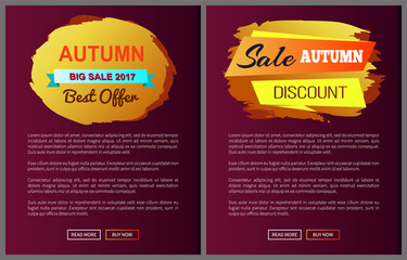 Autumn Big Sale 2017 Best Offer Special Discount