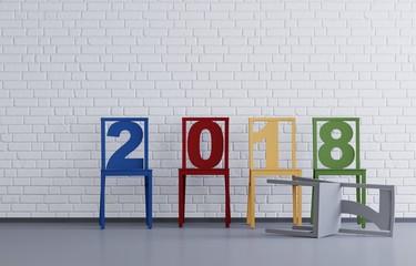 2018 - Stühle