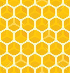 Seamless Honeycomb background texture