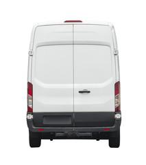 Rear of white van for your branding