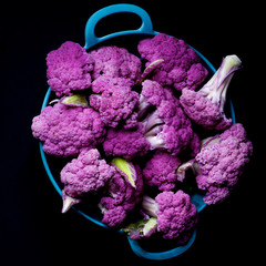 Fresh Purple Cauliflower