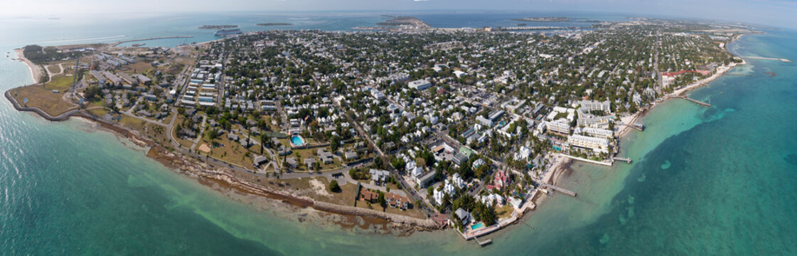 Key West Aerial Photo - Southwest View