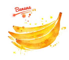 Bunch of unpeeled bananas