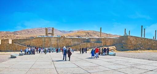 Way to Persepolis, Iran