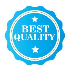 Best Quality blue  stamp. Vector illustration on white background.