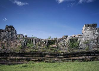preah vihear famous ancient temple ruins landmark in cambodia