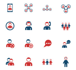 community color icon set