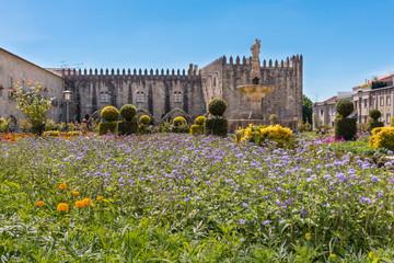 Jardin de Sainte Barbara Jardim Santa Ancien palais épiscopal Braga