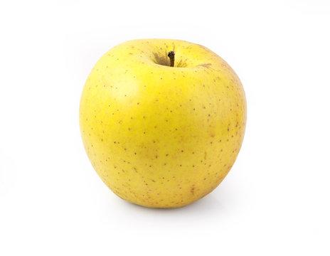 yellow apple isolated