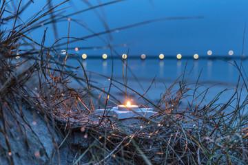Vorweihnachtszeit am meer