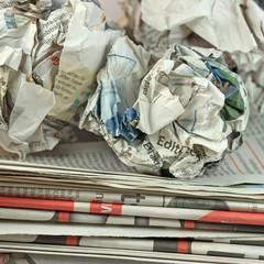 Altpapier, Zeitungen, Recycling