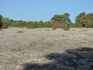 Ciudad Encantada de Cuenca. Paraje natural de rocas con formas en Castilla La Mancha, España