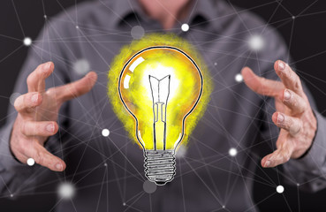 Concept of innovative idea