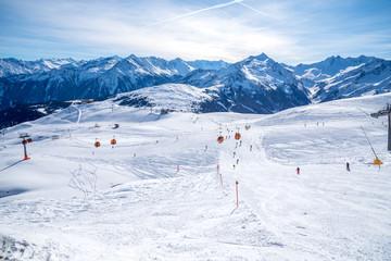 Ski fahren, Zillertal Arena
