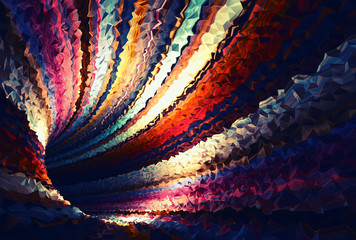 Colorful abstract digital background