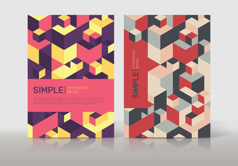 Multipurpose Flyer Layout with Geometric Elements 7
