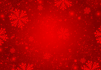 Abstract red christmas background.