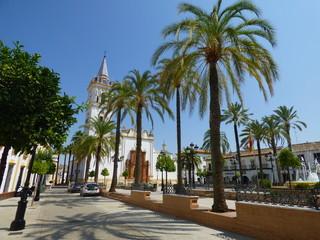 La Palma del Condado. Pueblo de Huelva ( Andalucia, España)