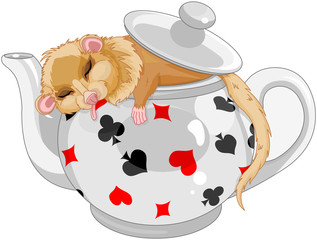 Poster Fairytale World Cute Dormouse