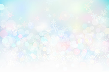 ホワイトスノークリスマス背景テクスチャ