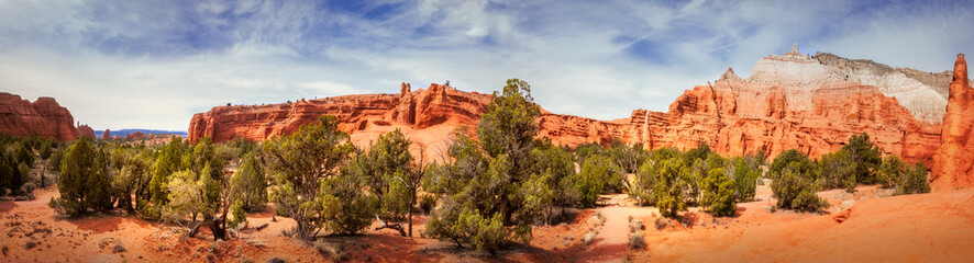 Kodachrome Basin State Park Panorama View
