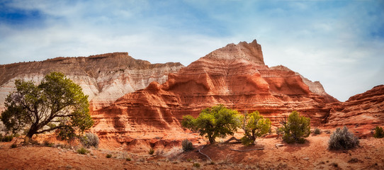 Kodachrome Basin State Park, Utah - colorful desert beauty in spring.