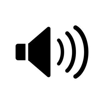 speaker icon, sound icon vector