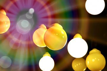 Light bokeh, Texture background