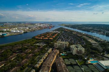 Aerial image Tampa Bay FL