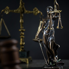 Legal law concept image, Scales of justice